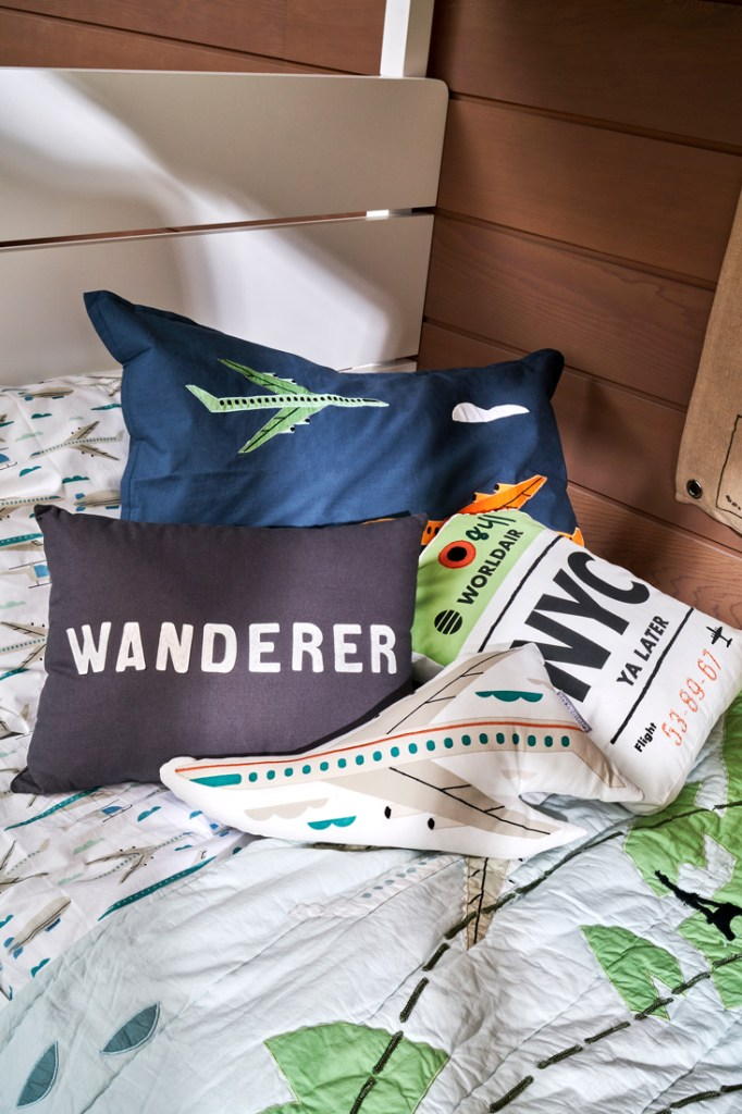 Crate and Kids kids' cushions for adventurous boys and girls
