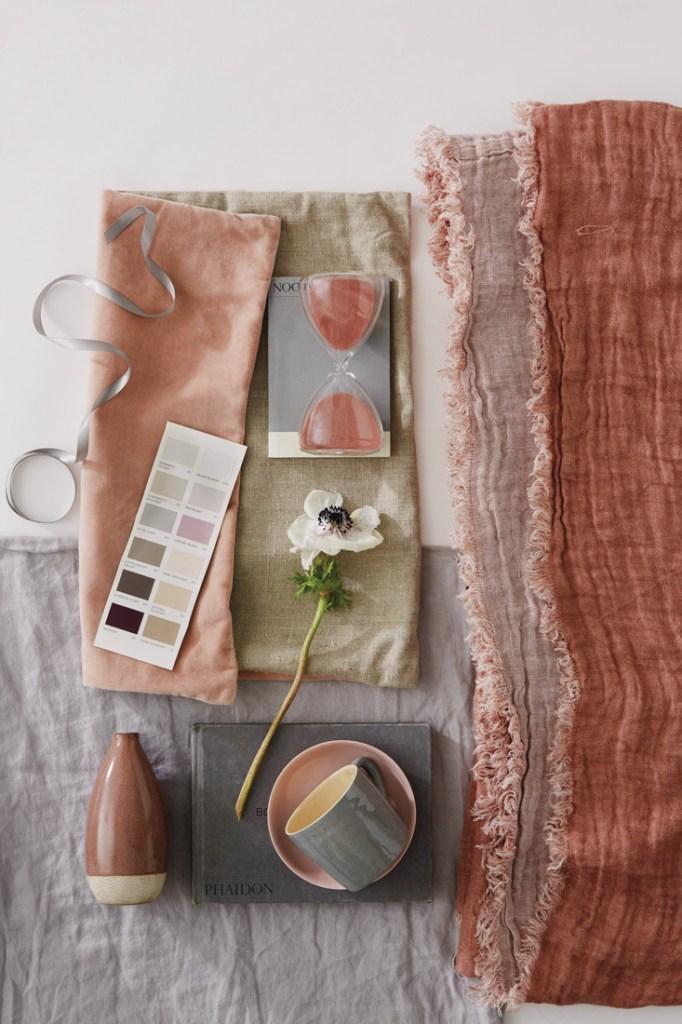 Furniture Village Pink tones