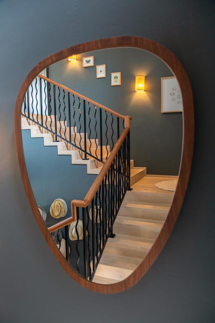 Mirror in Nadia Sallustio's villa