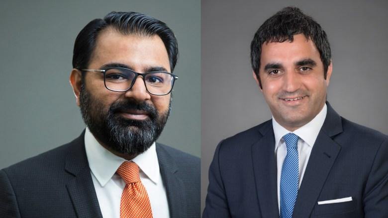 Arsalan Tariq and Michael Kortbawi, from BSA Ahmad Bin Hezeem Associates LLP