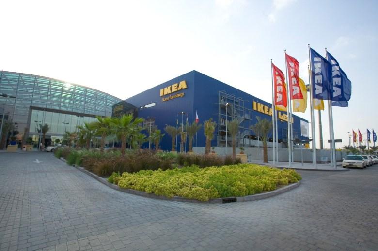 Ikea in Festival City, Dubai store front