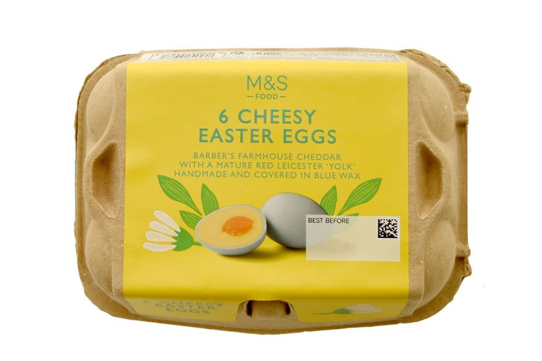 Mini Cheesy Eggs for Easter by Marks & Spencer