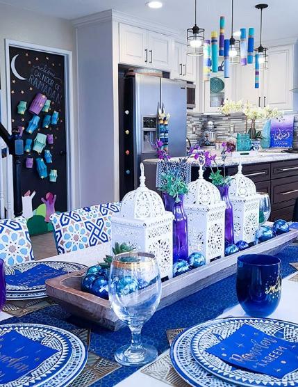 Creative Ramadan table set up
