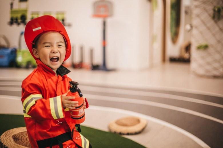 little boy fireman fancy dress