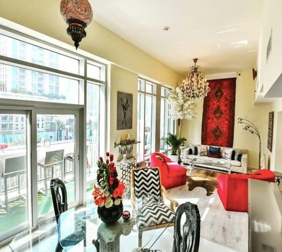 Sopranda living room design instagram interior_designer_dubai