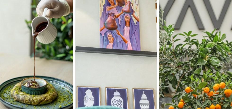 YAVA restaurant in Dubai Wasl 51 interiors