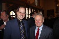 Autor und Polen-Experte Matthias Kneipp mit Dr. Hans Vielberth