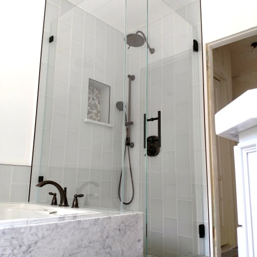 90 Degree Glass Tile 2 By Blizzard Frameless Showers