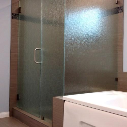 90 Degree Rain Glass by Blizzard Frameless Showers