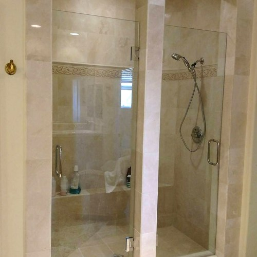 Custom Dual Doors By Blizzard Frameless Showers