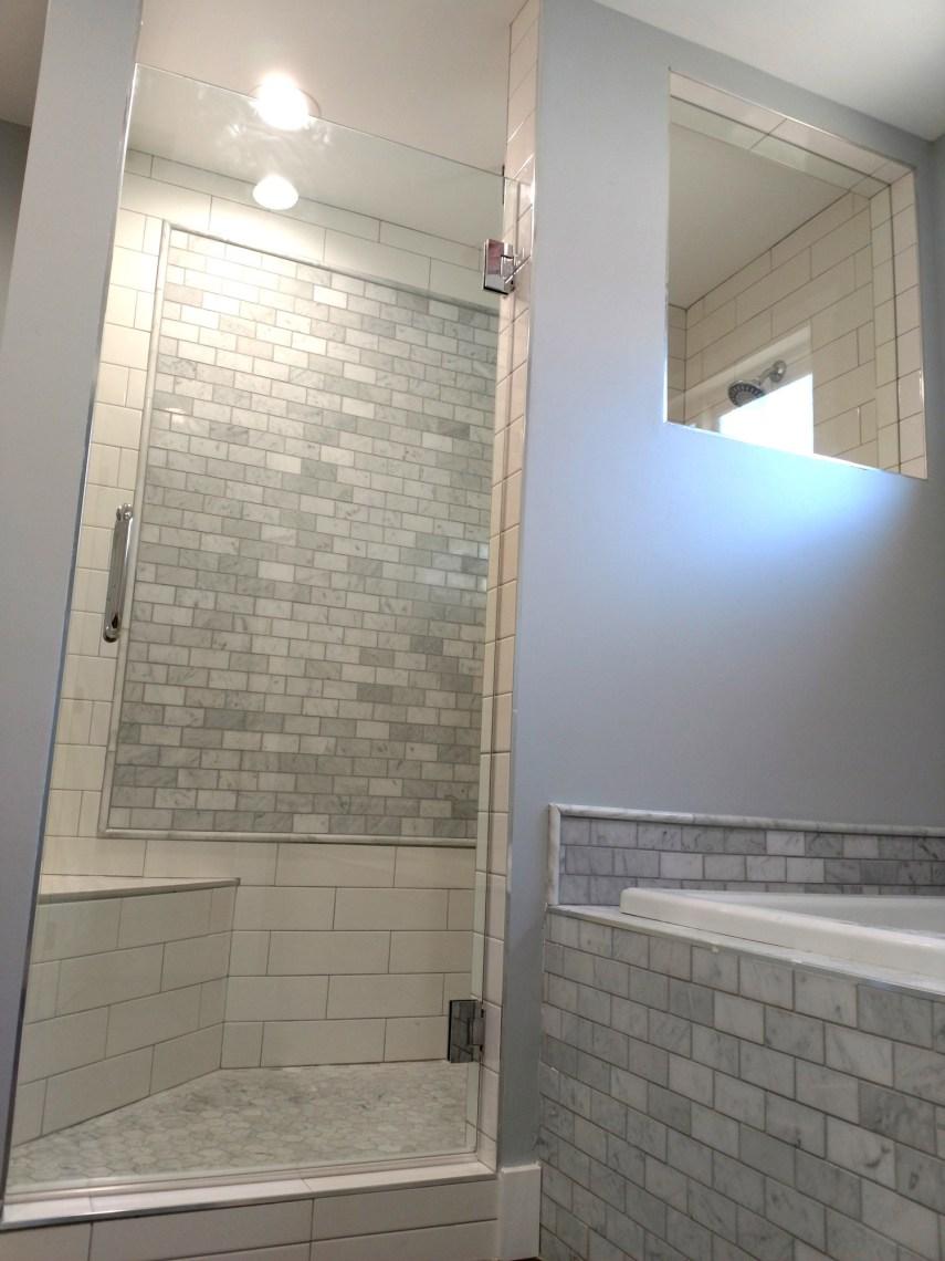 Custom Single Door By Blizzard Frameless Showers