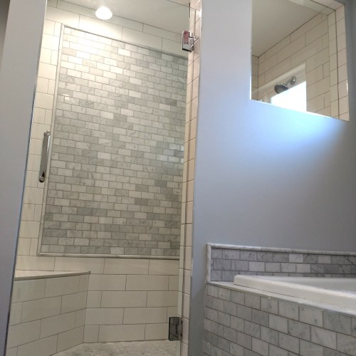 Custom Single Door By Blizzard Frameless Showers