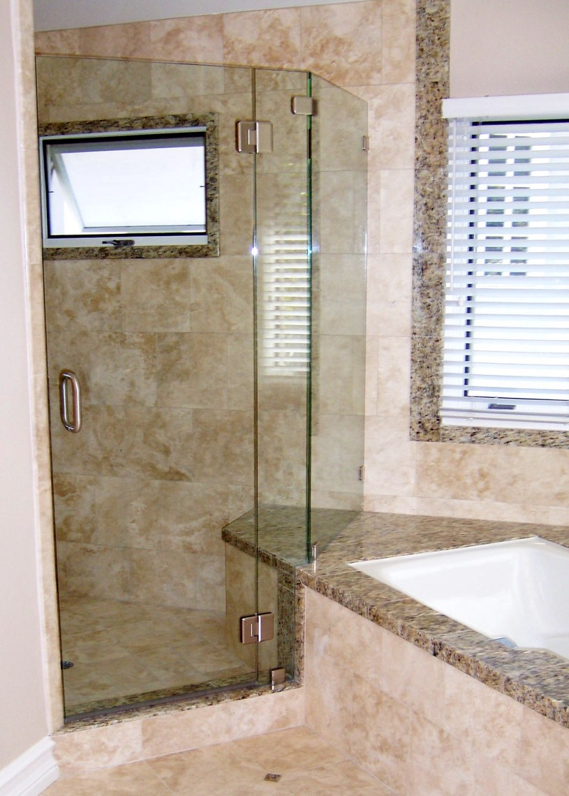 Neo Angle 8 With Notch By Blizzard Frameless Showers