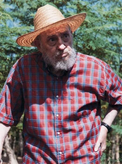 Image: Fidel Castro in 2012