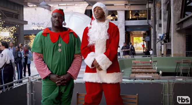 Ludacris Christmas.Keke Palmer Charles Barkley Ludacris More Go Christmas