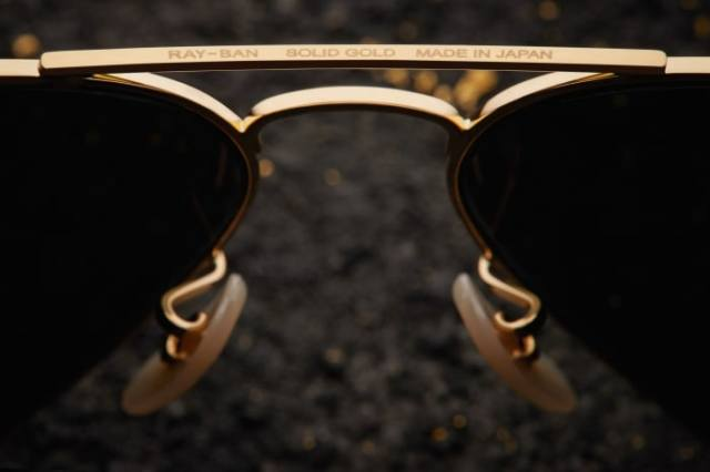 Ray Ban Aviator Solid Gold (3)