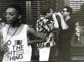 spike lee on the set of do the right thing - copywrite brightlight fims