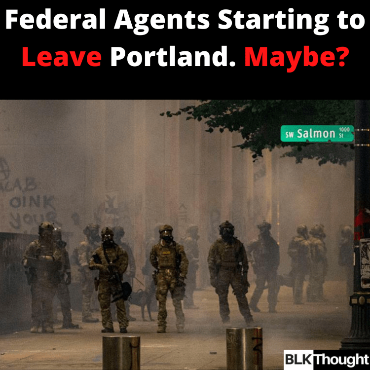A Phased Exit is to Begin for Federal Agents in Portland