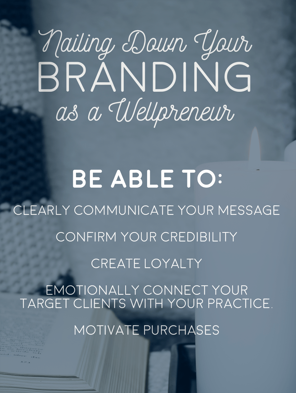 nailing down your branding as a wellpreneur pinterest