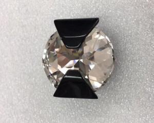 diamant ornement noir