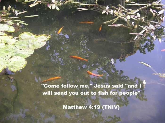 Follow me, said Jesus