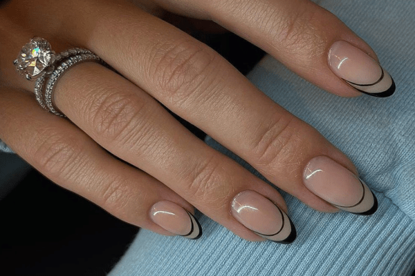 Let's Get Minimal (French Manicure Nails)