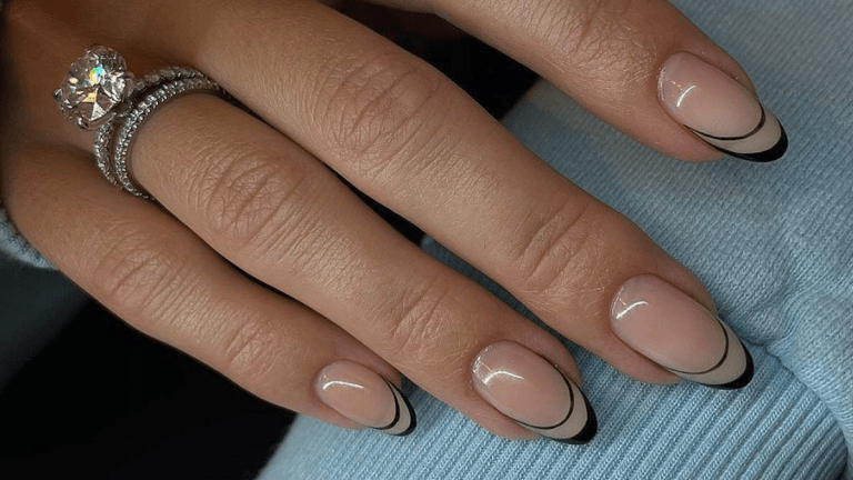 Let's Get Minimal: French Manicure Nails