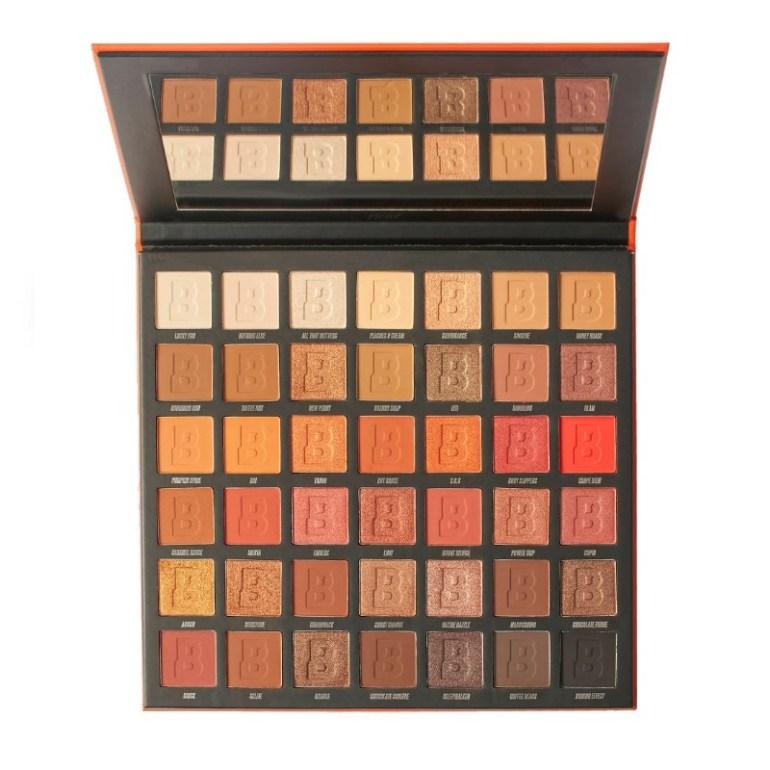 By Beauty Bay Fiery 42 Colour Eyeshadow Palette