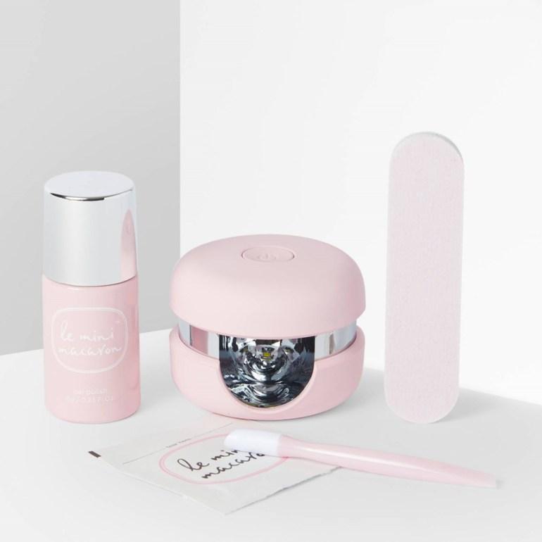 Le Mini Macaron Fair Floss Gel Manicure Kit