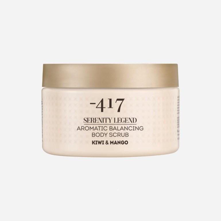 Face & Body Scrubs For Smoother Skin   Minus Aromatic Balancing Body Scrub in Kiwi & Mango