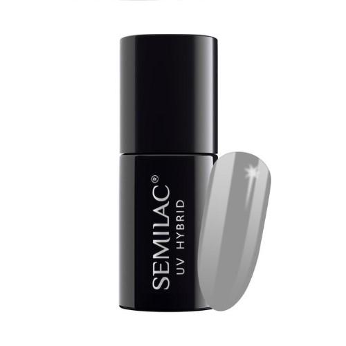 At-Home Manicure: Semilac 533 Brave Coral UV Gel Polish
