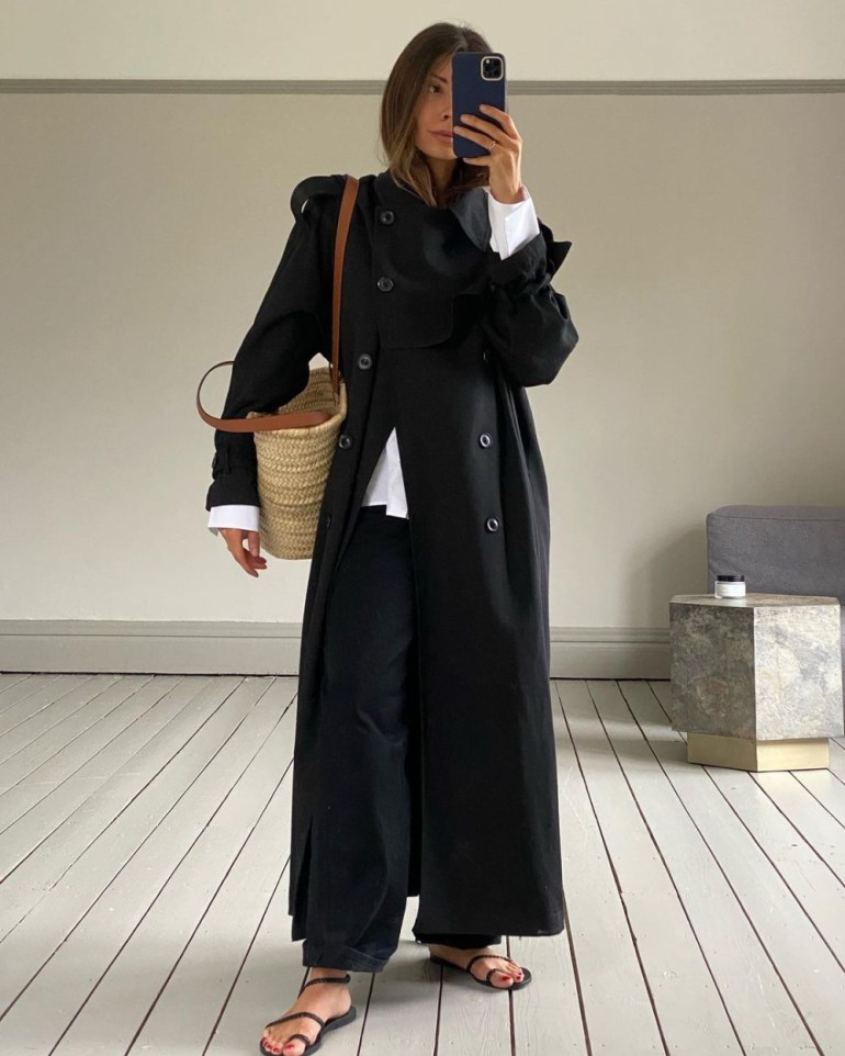 Spring Trench Coats 2021 - Digital Creator Marianne Smyth