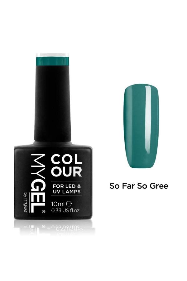 Shop the MYGEL by Mylee Gel Polish - So Far So Green #MG0061