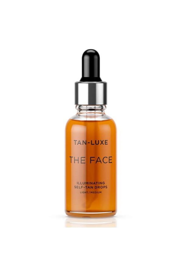 Shop the Tan-Luxe The Face Illuminating Self-Tan Drops 30ml - Light to Medium