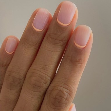 The Reverse French manicure by Harriet Westmoreland