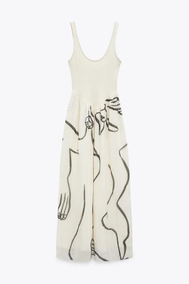 ZARA Dina Bukva Dress
