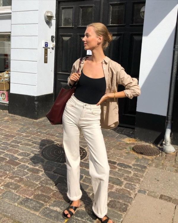 Ecru Jeans: Cecilie Moosgaard Nielsen