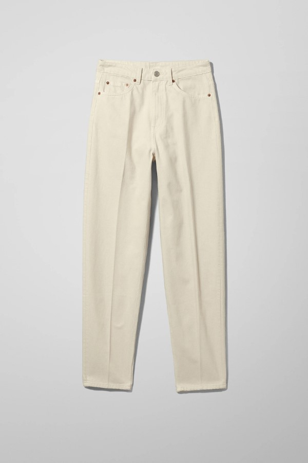 Shop the Weekday Lash Extra High Mom Jeans