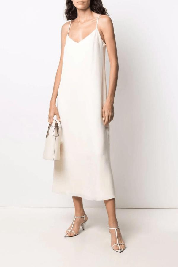 12 STOREEZ V-Neck Slip Dress