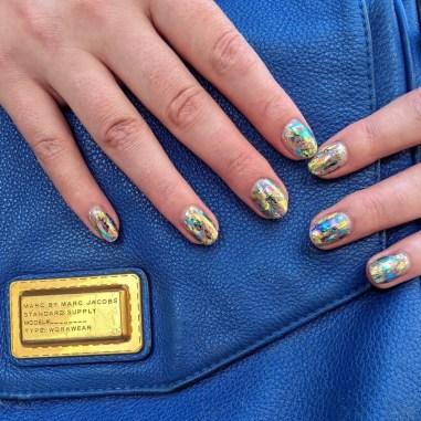 Autumn 2021 Nail Art Trends: Foil Nails by Paintbox