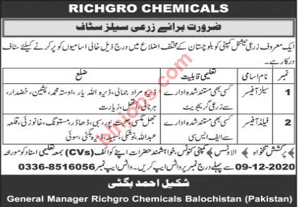 Richagro Chemicals Balochistan
