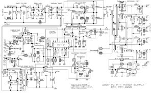 Como saber si una fuente atx oscila  Ingeniería