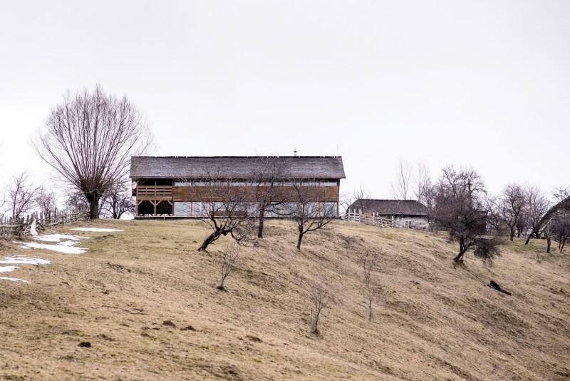 """Nominalizare a proiectului """"Casăde Vacanțăîn satul Măgura"""" in cadrul Bienalei Naționale de Arhitectură 2018,în secțiunea Rural."""