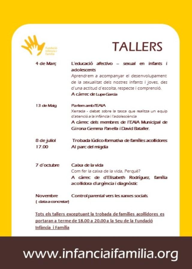 tallers ICIF GI-2016