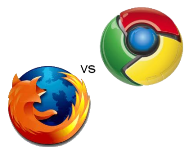 Firefox contra Chrome