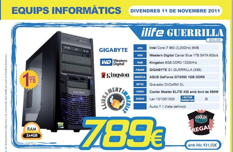 Preus life informatica ordinador guerrilla