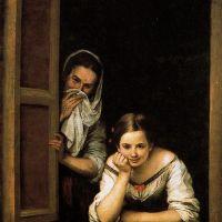 Mujeres en la ventana (Murillo, 1670)