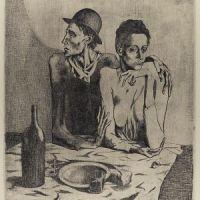 La comida frugal (Picasso, 1904)