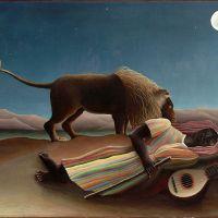 La gitana dormida (Rousseau, 1897)