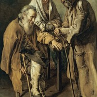 Tres mendigos (Giacomo Ceruti, 1736)